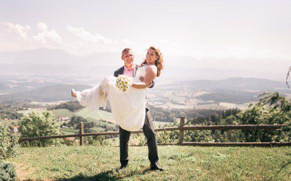 Hochzeit Brigitte und Sebastian auf dem Magdalensberg