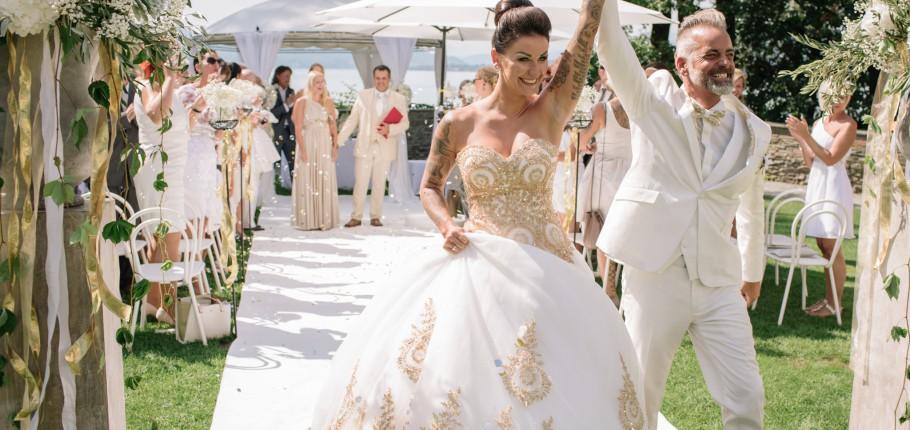 Hochzeit Alexandra und Stefan im Schloss Maria Loretto