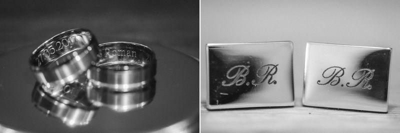 hochzeitsfotograf kaernten, bojan und roman, ein gleichgeschlechtliches paar bei der vorbereitung für die kirchliche trauung mit ringen und manschettenknöpfen