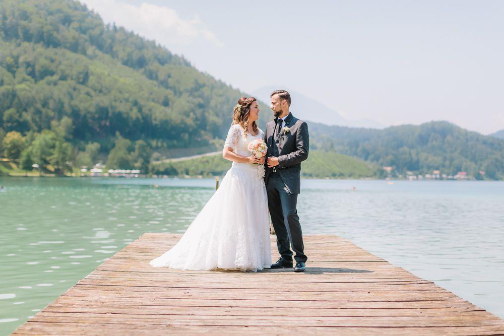 Perlmutt Pictures Hochzeitsfotograf Kaernten Hochzeit am Klopeiner See