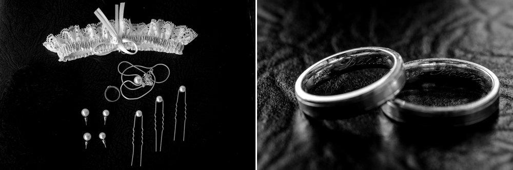 Brautschmuck und Ringe