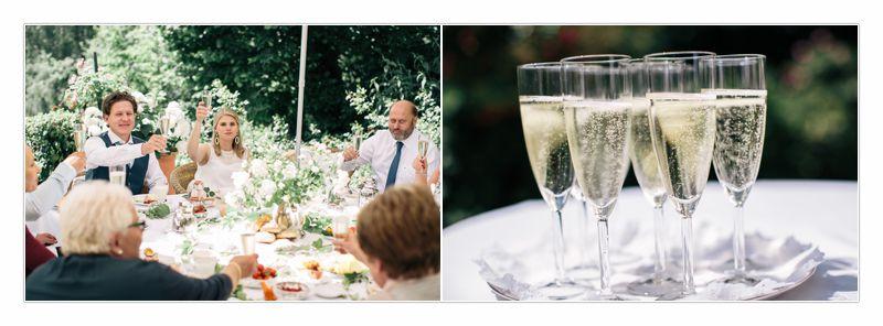 Nach der Hochzeit beim Frühstück, Prossecco, von Perlmutt Pictures, Walter Szalay
